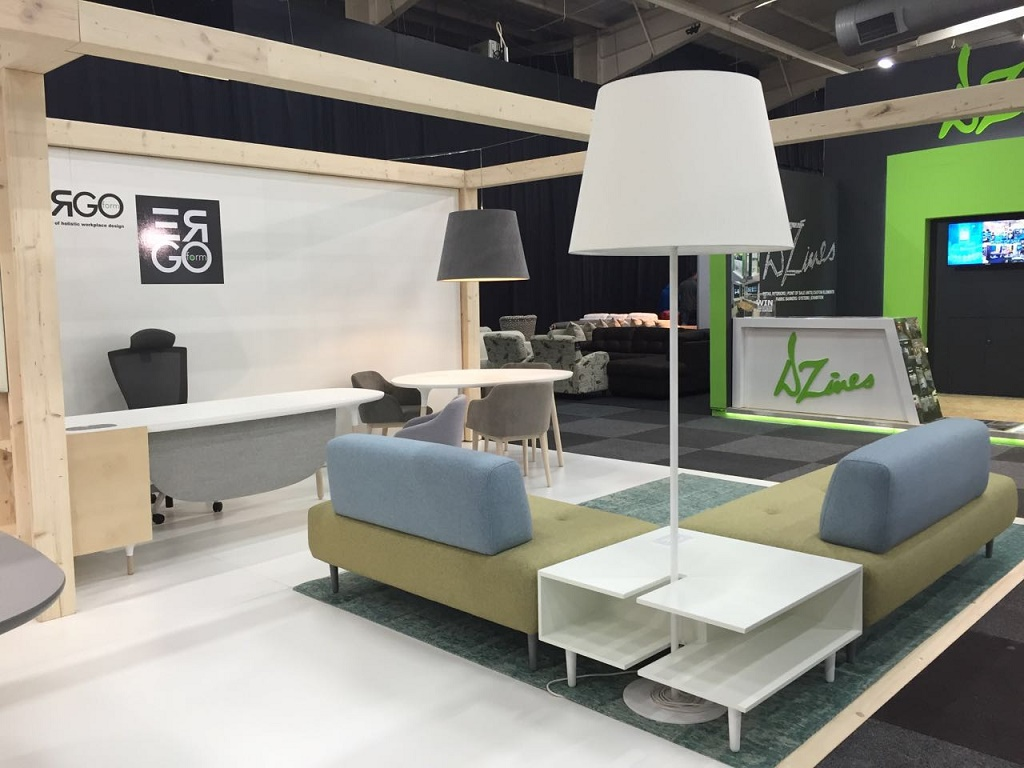 Ergoform takes top honours at inspire trade expo design news for Office design expo