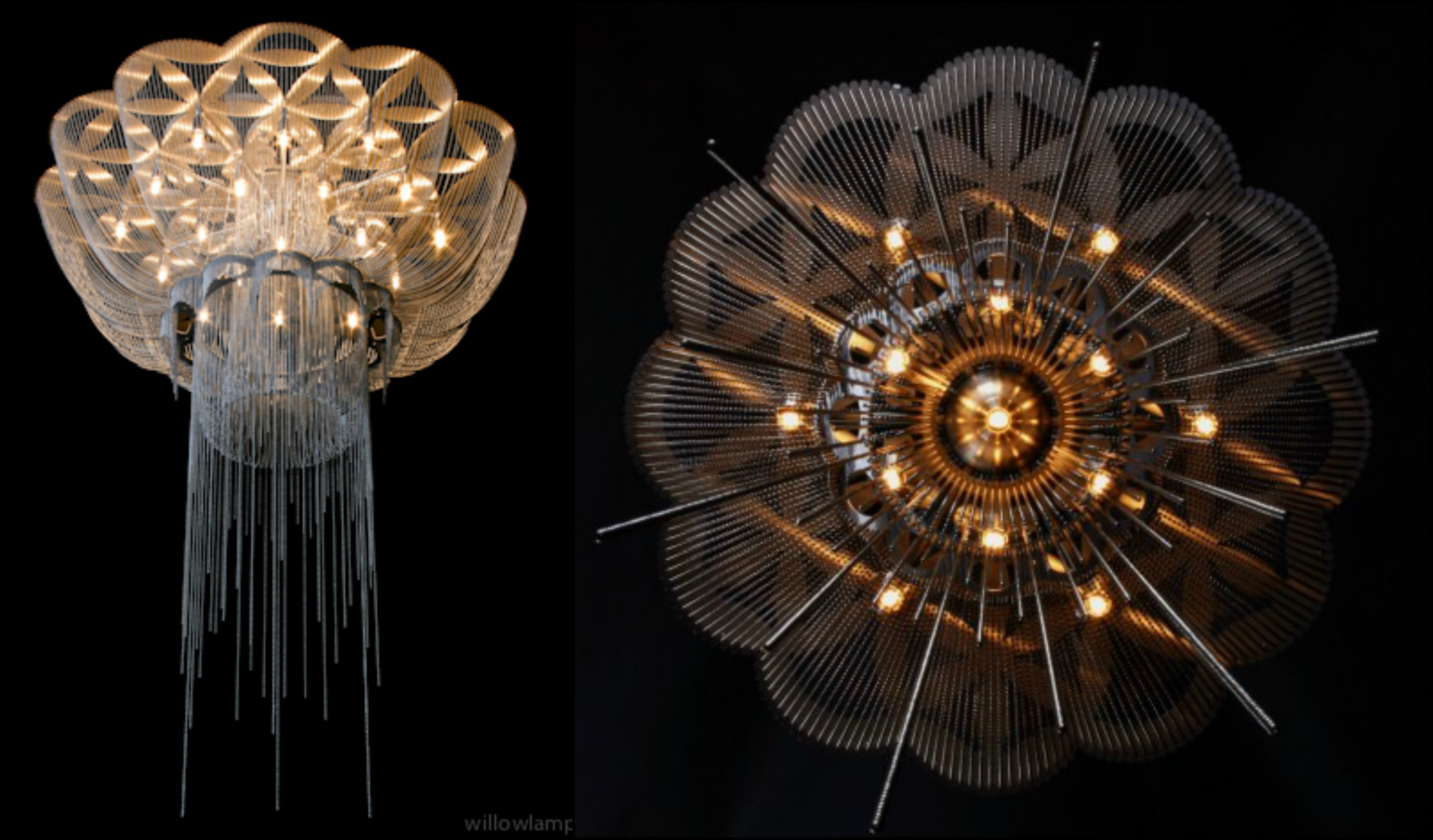 Adam hoets the visionary behind award winning lighting design many of willowlamps products prove this inspiration such as flower of life a chandelier that owes its name to a shape commonly associated with sacred arubaitofo Images