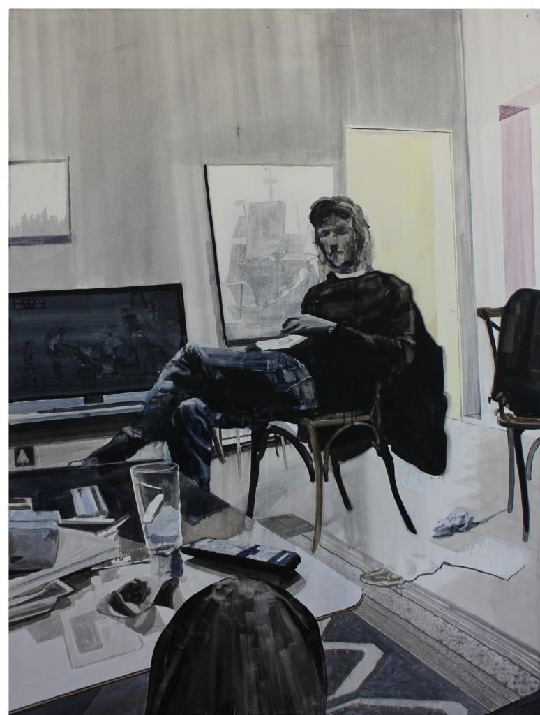 Daniel Nel, Breda Park, oil on canvas, 161 x 120 cm
