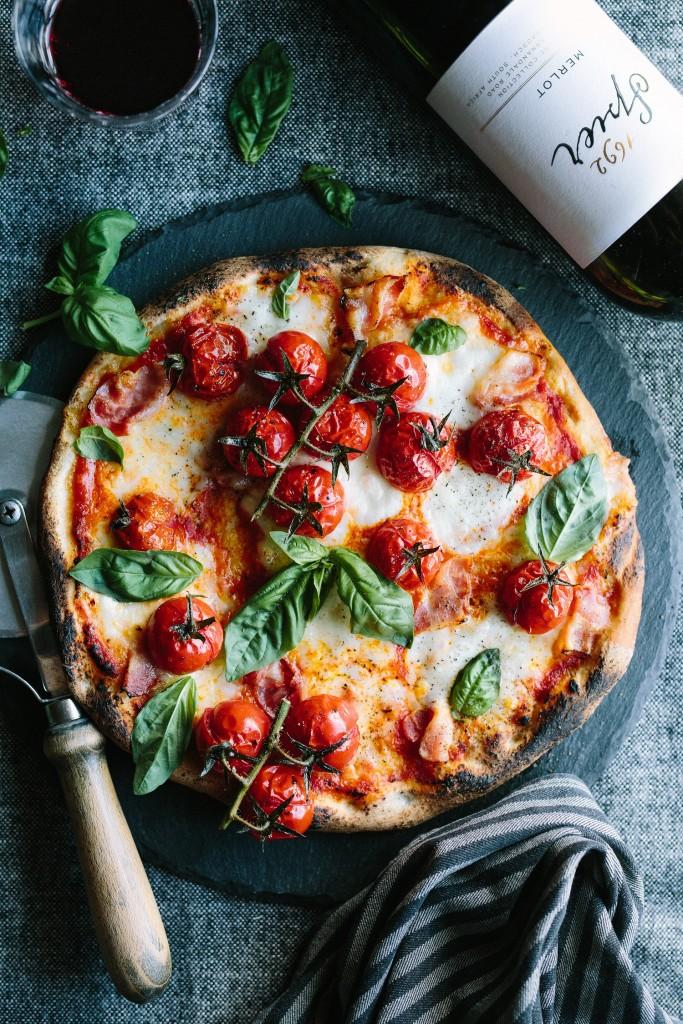 Recipe - Signature Merlot + pizza (MR)