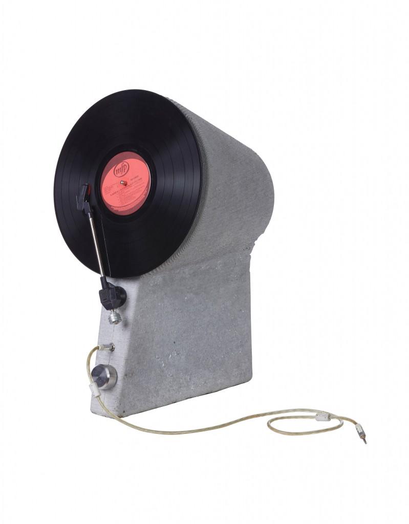 PPC_Imaginarium_Industrial Design Winner_Jomar Dreyer_Vertical Concrete Record Player