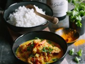Spier Recipe -Cape Malay Prawn Curry with Spier 21 Gables Chenin Blanc (LR)