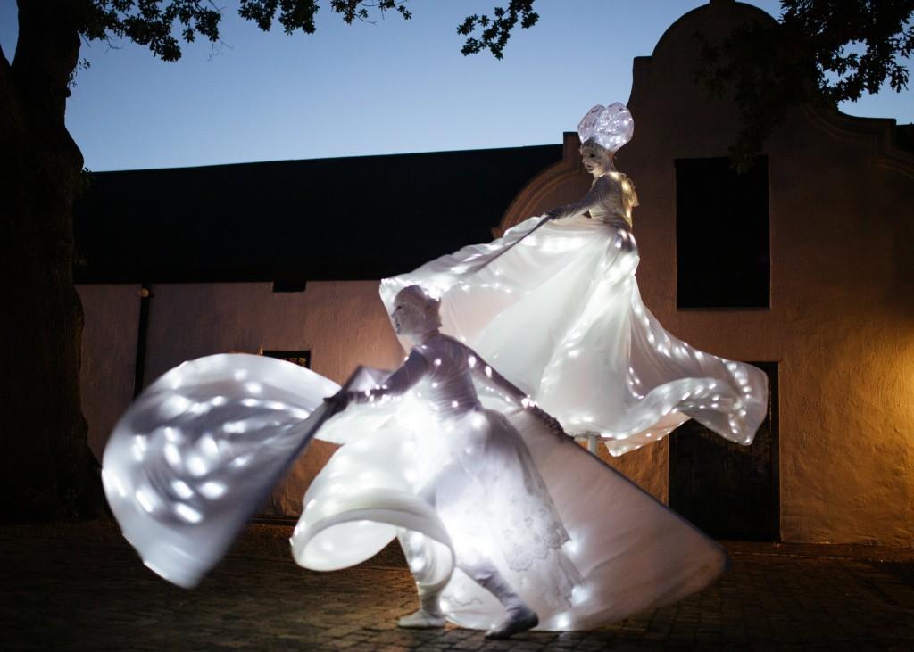 Spier Light Art - Crystal Wings 3