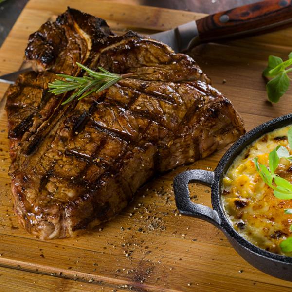 Succulent T-Bone Steak