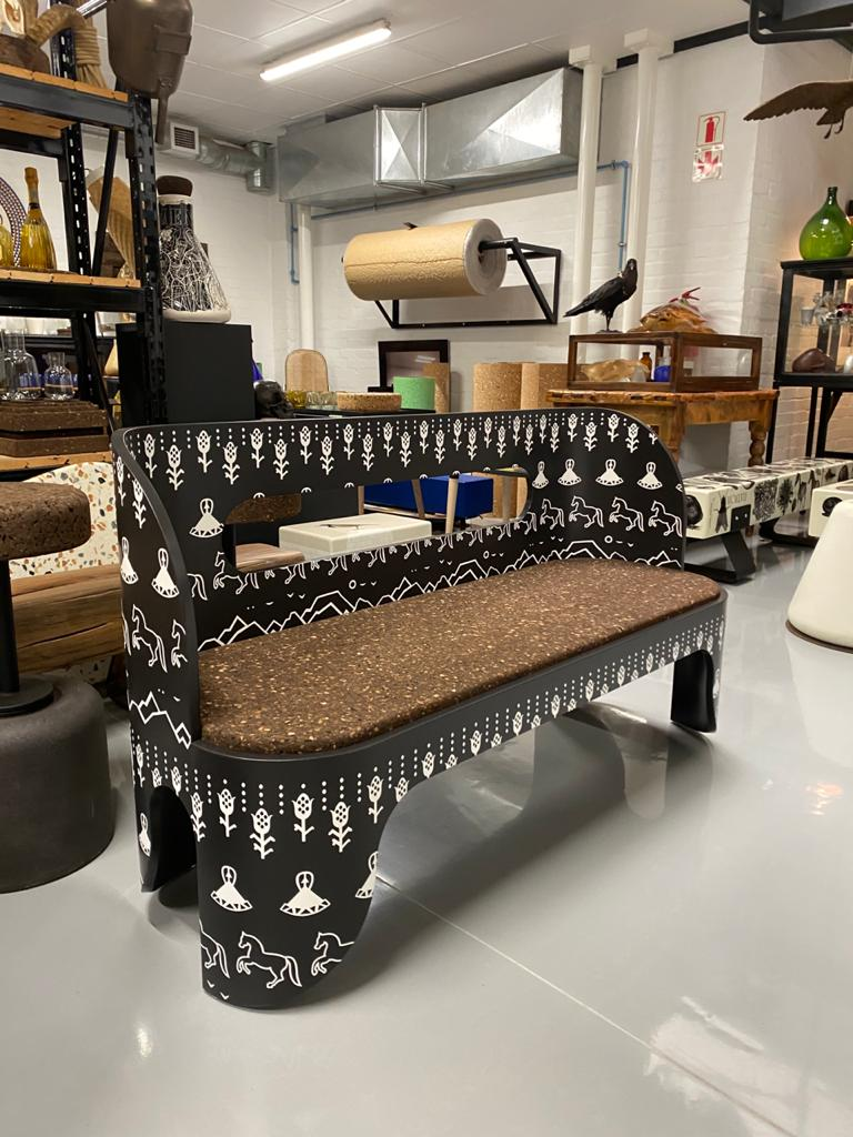 Bodulo Bench. Image Credit With Compliments Wiid Design Studio