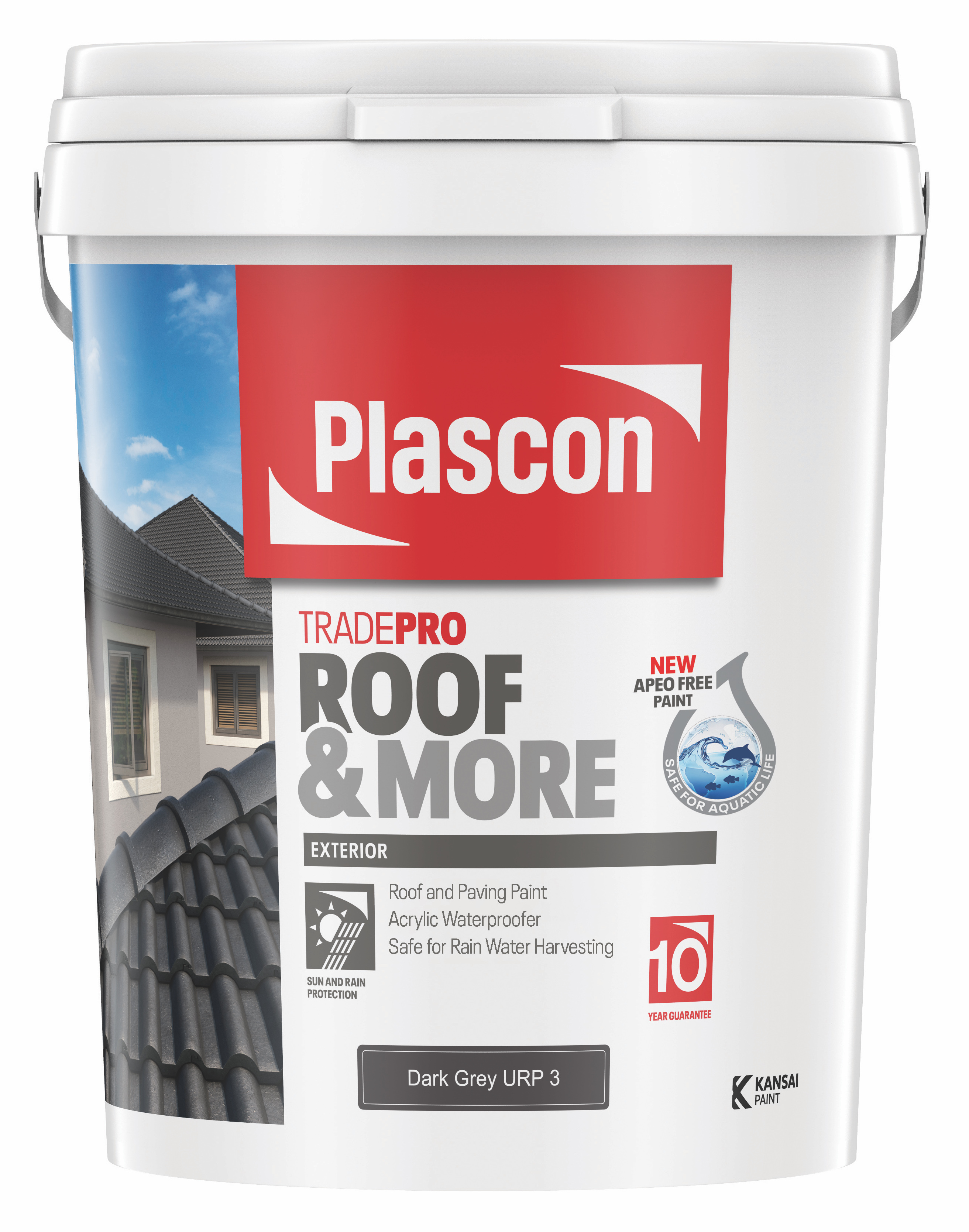 CROPPED 02840 Plascon Tradepro Roof 3D Packshot 20L PLASTIC BUCKET_NEW_flat copy