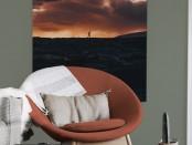 Feature Wall n Chair_Sunset Shadows