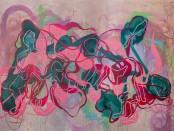 First Floor Gallery Amanda Mushate Kushava nepanguva yekuva nemchehcewako 2021 oil on canvas 175 x- 50cm