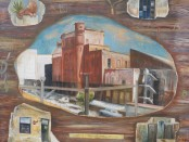 Woodstock Brewery.Oil on paper.80x70cm